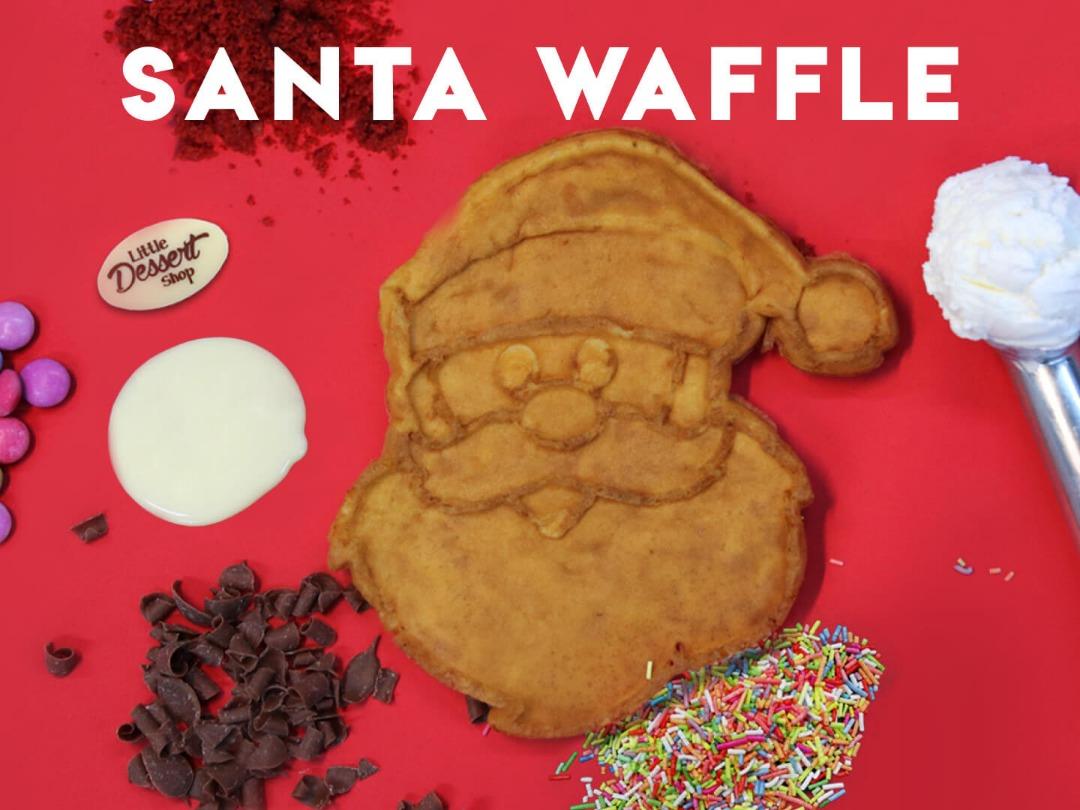 Santa Waffles