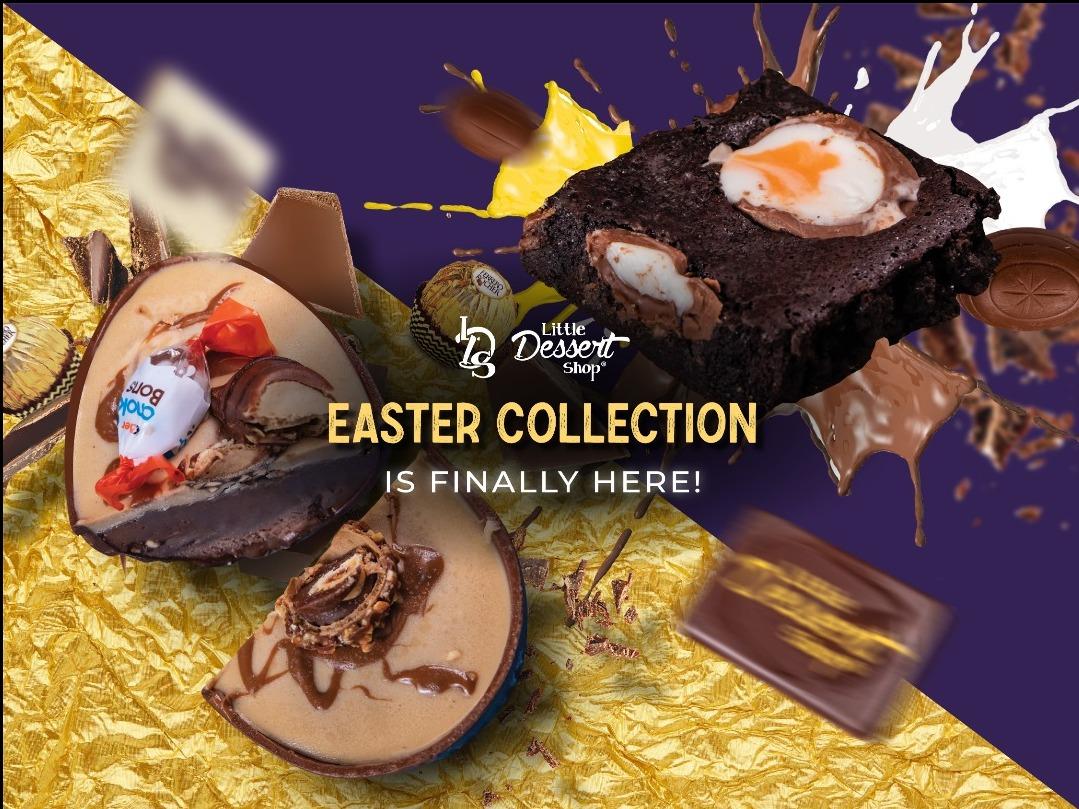 Easter has arrived at Little Dessert Shop!
