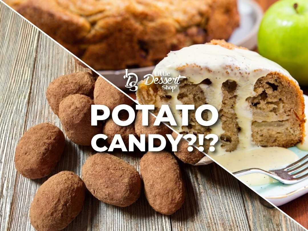 They're not potatoes! They're Candy!