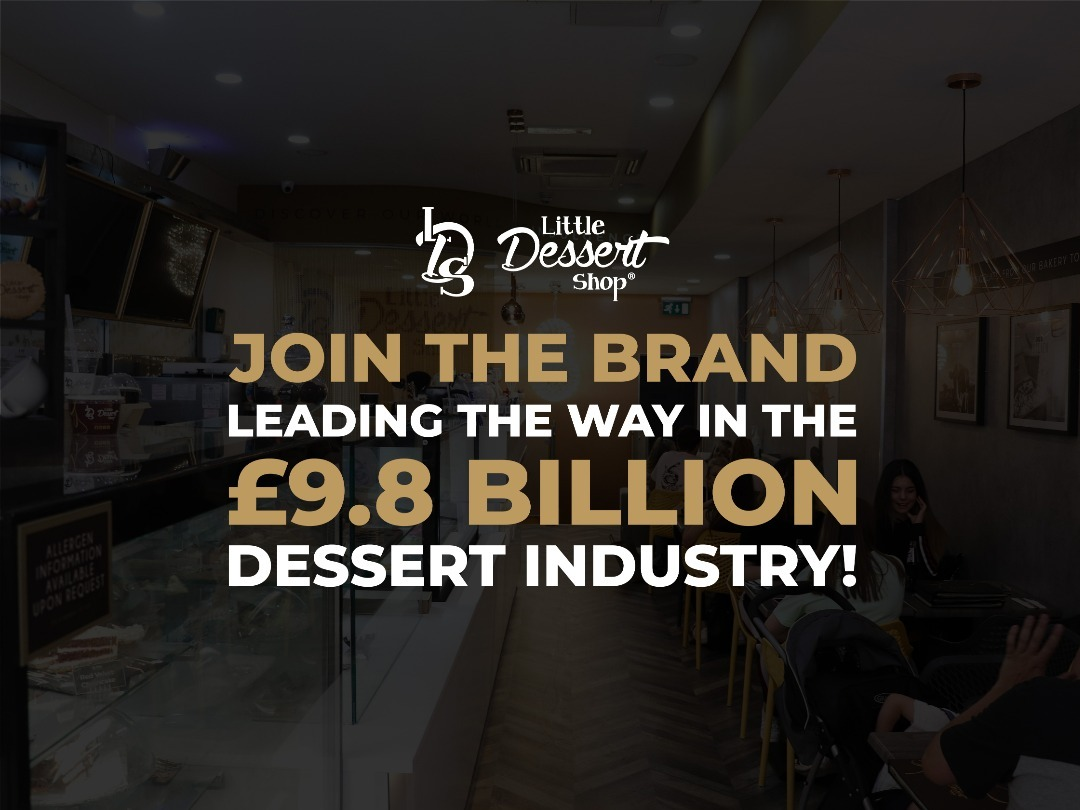 Join the brand leading the way in the £9.8 billion dessert industry!