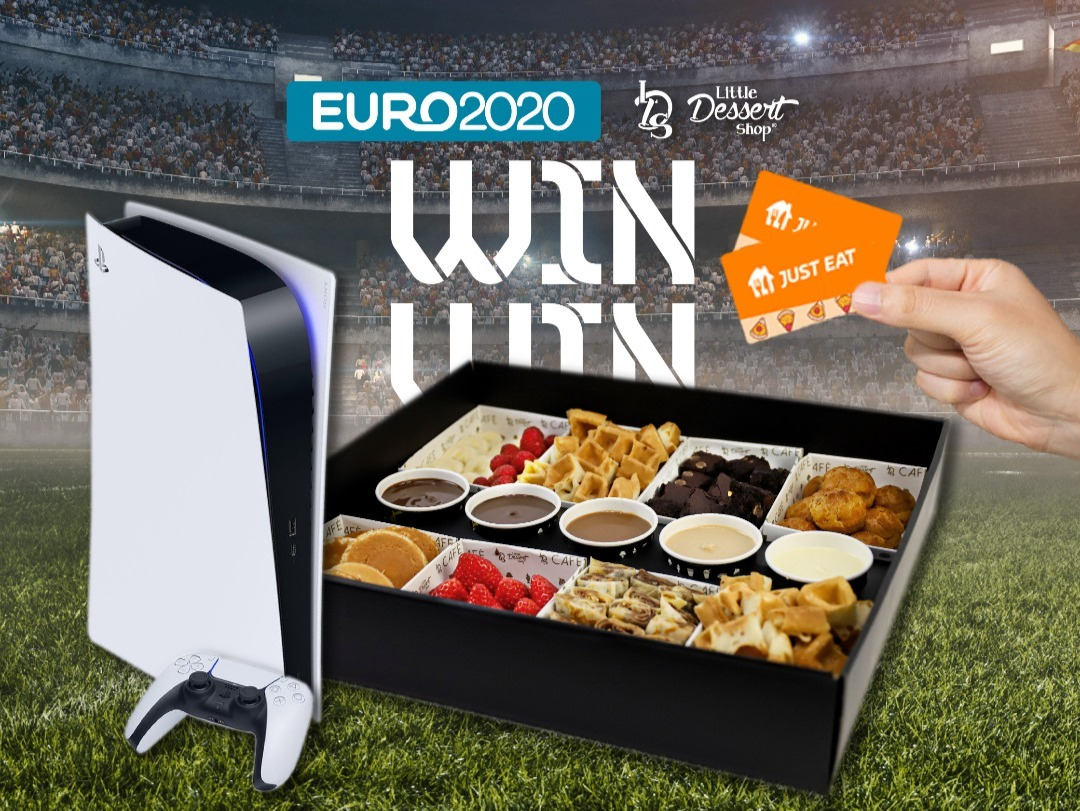 Little Dessert Shop announce massive GIVEAWAY including TWO PS5s and over £700 of Just Eat vouchers!