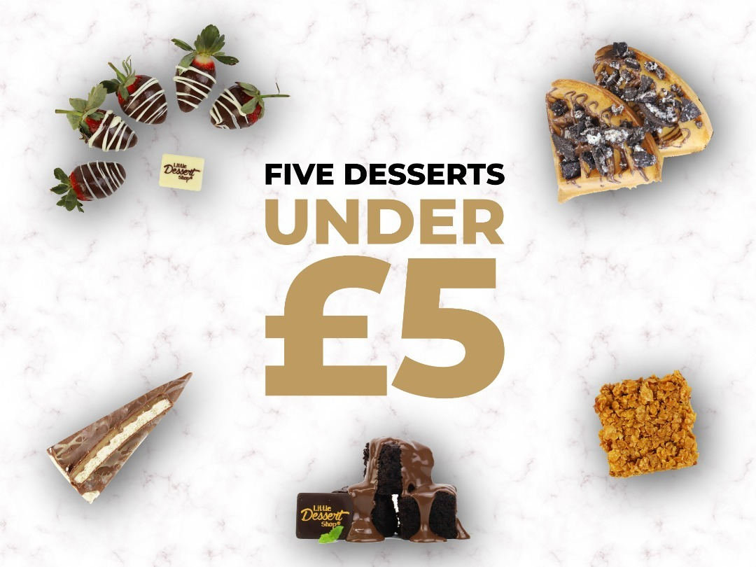 Five Desserts under £5! - Delicious desserts don't have to devastate the bank!