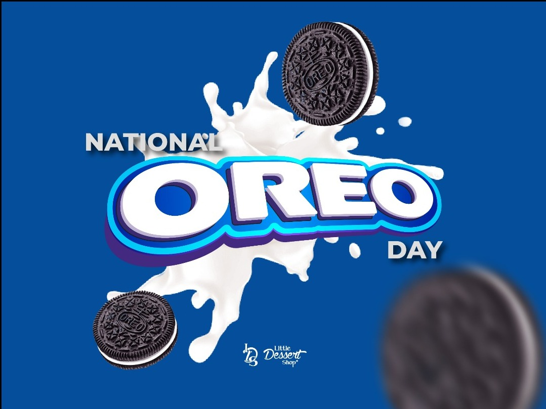 Happy National Oreo Day Dessert Lovers!