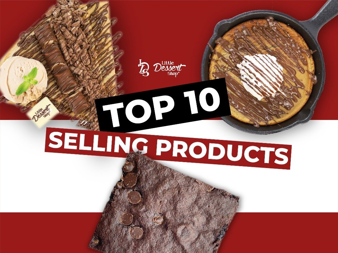 Top 10 selling products on our menu!