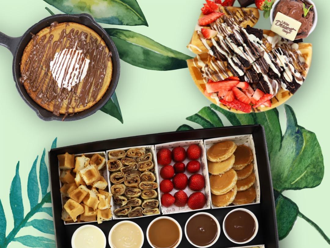 LDS' Vegan Menu includes Vegan Cookie Dough, Waffles, Dunking Box and More!