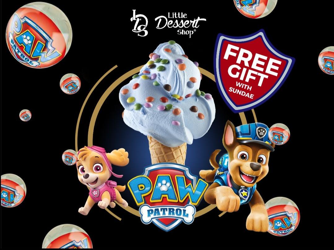 PAW Patrol® Lands at Little Dessert Shop!