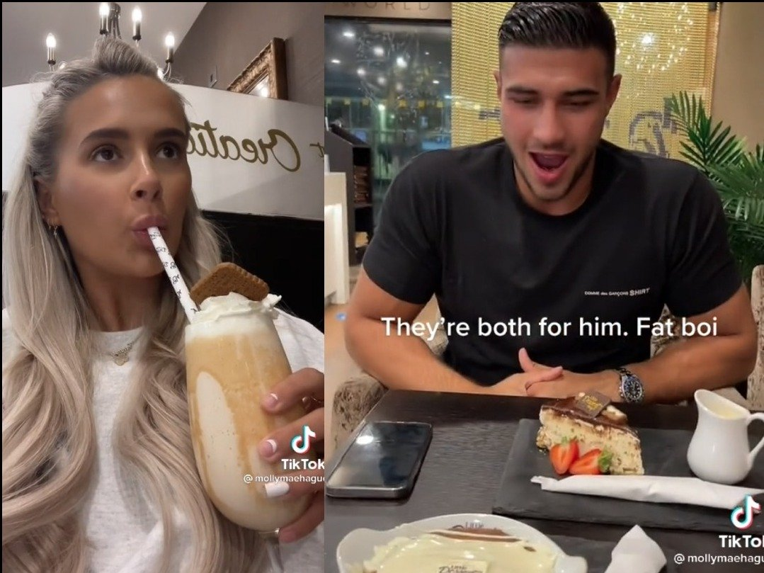 Molly Mae & Tommy Fury visit Little Dessert Shop and they LOVE IT!