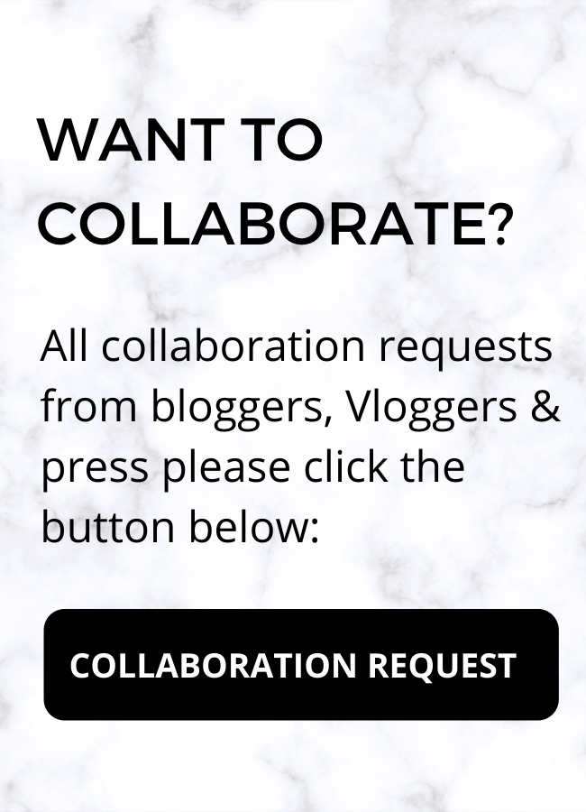 Marble background with black text and collaboration black button